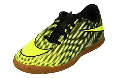 Nike Junior Bravatax II IC Football Boots 844438 Soccer Cleats (UK 5.5 us 6Y EU 38.5, Black Volt 070)