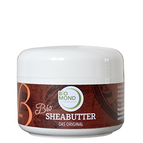 BIO Sheabutter *B* Basis Hautcreme Body Butter BIOMOND / DAS ORIGINAL / 150 g