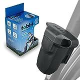 fobbi Maskendose - Fahrrad-Box zur praktischen Aufbewahrung von Masken, Schlüssel, kleinem Multitool etc. - Befestigung auch an E-Scooter, Roller, Kinderwagen, Rollator, Rennrad & Mountainbike