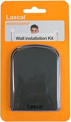 Lascal T-LAS-12564/5 Kit mural pour barrière de protection Kiddyguard Noir