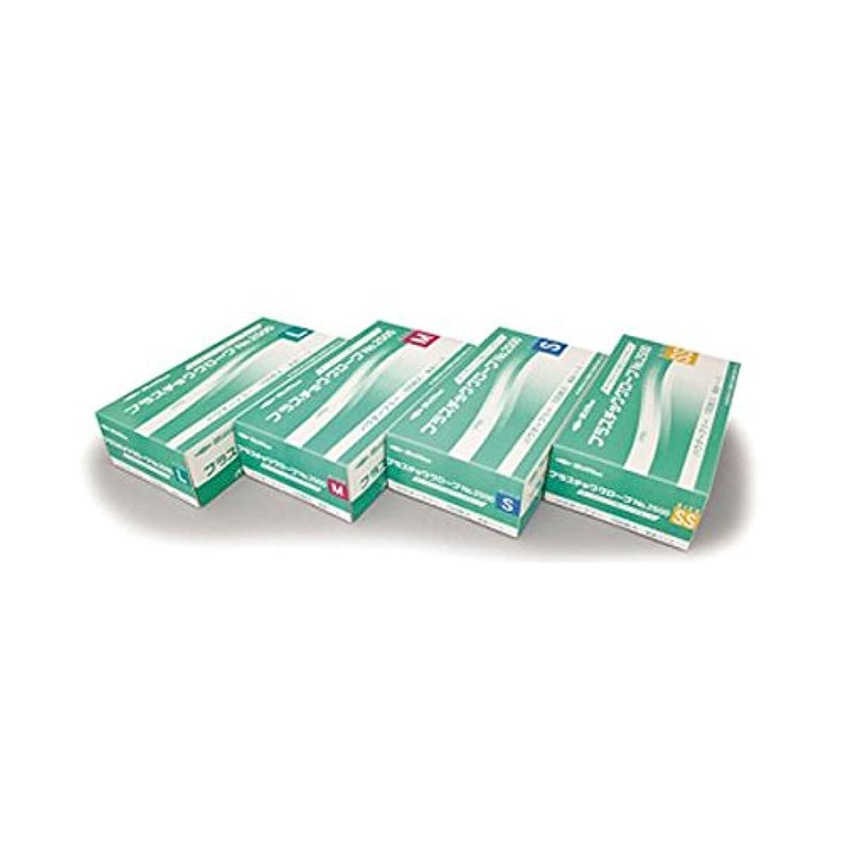 ペストリー踏みつけ欠席(業務用20セット) 共和 プラスチックグローブNo2500 L LH-2500-L