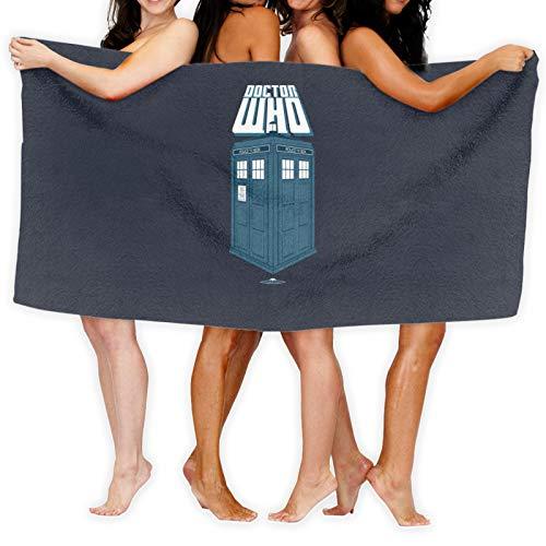 Doctor Who Tardis Toalla de baño de secado rápido