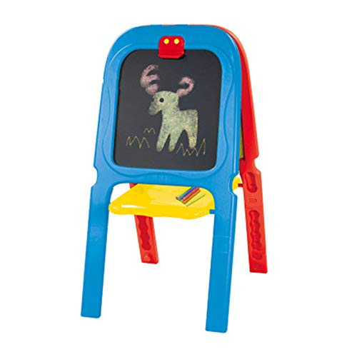 Staffelei doppelseitige Tafel Kinder Staffelei doppelseitige Whiteboard & Tafel einstellbarer Staffelei für Kinder stehende Staffelei mit Art Supplies Zubehör für Kinder Kleinkinder Jungen und Mädchen