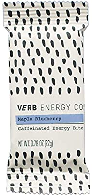 Verb Caffeinated Energy Bar, 90 Calories, 12 Count