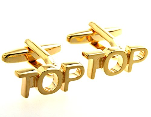 Memyseli Gold Plated TOP Cufflinks In A Gift And Presentation Box