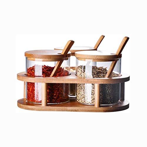 Manyao di alta qualità Vetro condimento bottiglia, a prova di umidità, aromi e spezie vasca di vetro domestica Seal condimento vaso di latta salata serbatoio