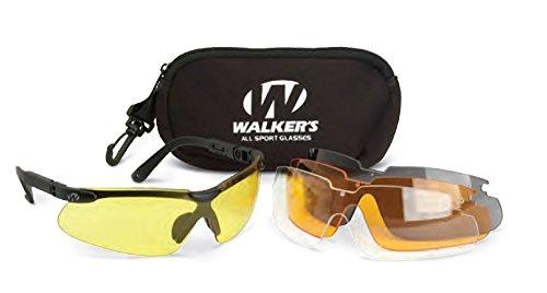 GSM Outdoors Walkers Wge07732 Bouchons d'oreilles unisexes pour adulte Multicolore Taille unique