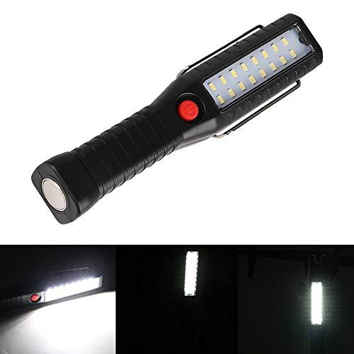 No hay necesidad conectar 16 LED USB recargable Luz