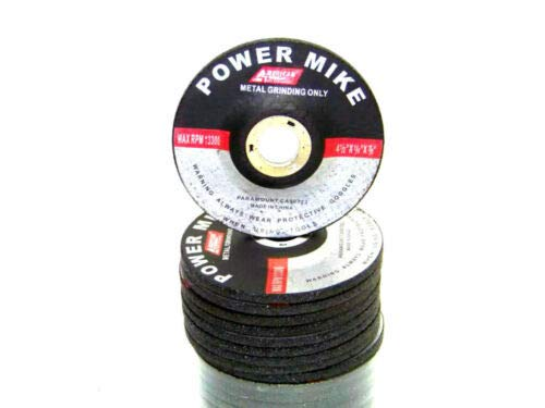 """(Best tools) 10 PC 4-1/2"""" X 1/4"""" X 7/8"""" METAL GRINDING CUTTING WHEEL FOR ANGLE GRINDER"""