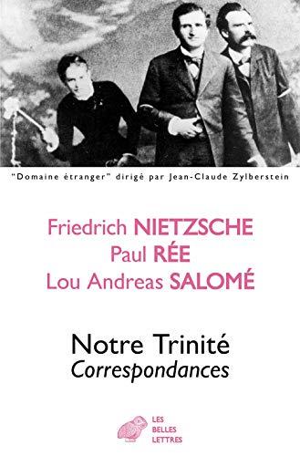FRE-NOTRE TRINITE: Correspondances (Domaine etranger, Band 35)