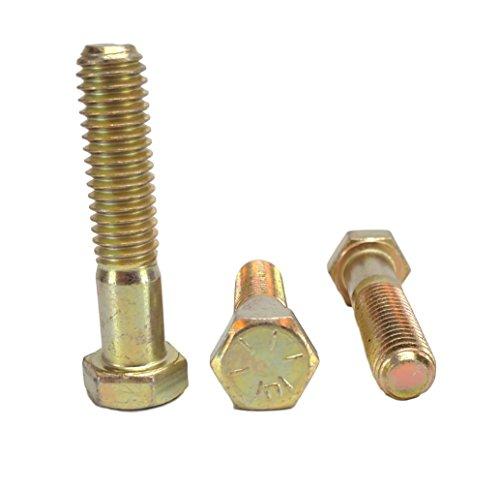 3/8–16HEX HEAD Schrauben, Grade 8(3/10,2cm zu 10,2cm Längen in) Hex Head Cap Schrauben
