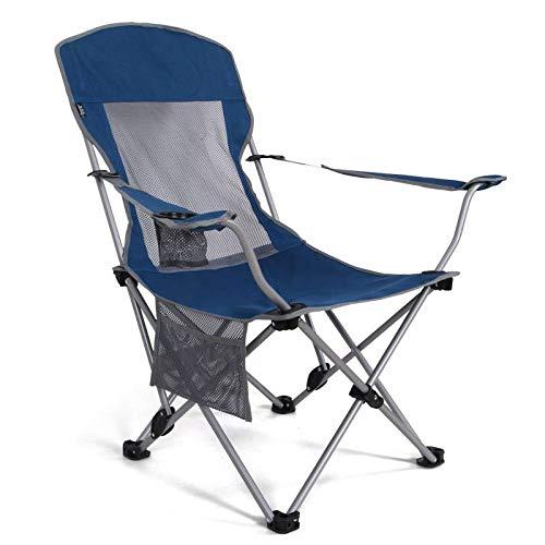 WWVAVA Silla plegable portátil para acampar al aire libre Silla de playa Silla de picnic Fshing Herramienta Silla de senderismo 200 kg, verde, A