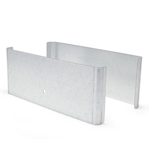 Fence Armor Demi Size Universal Post Guard, Protects Fence, Mailbox   1 Pair (7.5