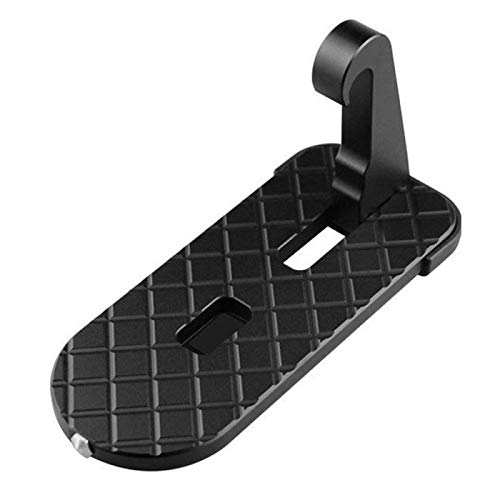 SEFKVP 1 Stück Universal Faltbare Türschwelle Auto Fußpedal Dachleiter Gepäckhalter