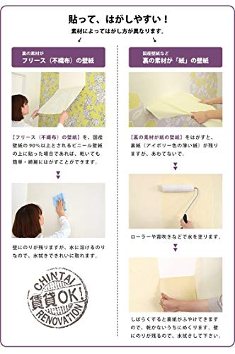 貼ってはがせる剥がせる壁紙輸入壁紙専用粉のりスーパーフレスコイージー