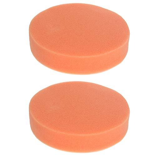 Utoolmart Almohadillas de espuma para taladro de 5 pulgadas, 2 unidades