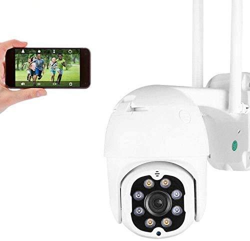 3MP Cámara de Seguridad WiFi Exterior, Aottom HD PTZ Camara Vigilancia Exterior, Cámara de Vigilancia, Audio de Dos Vías, Visión Nocturna 40M, Detección de Movimiento, Notificación de Alarma, IP66