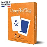 Badogshop - Kit de Huella de Perro, Sello de Tinta para Perro y Gato, Recuerdo de Tatuaje y Marco (Pawprint'Dog)