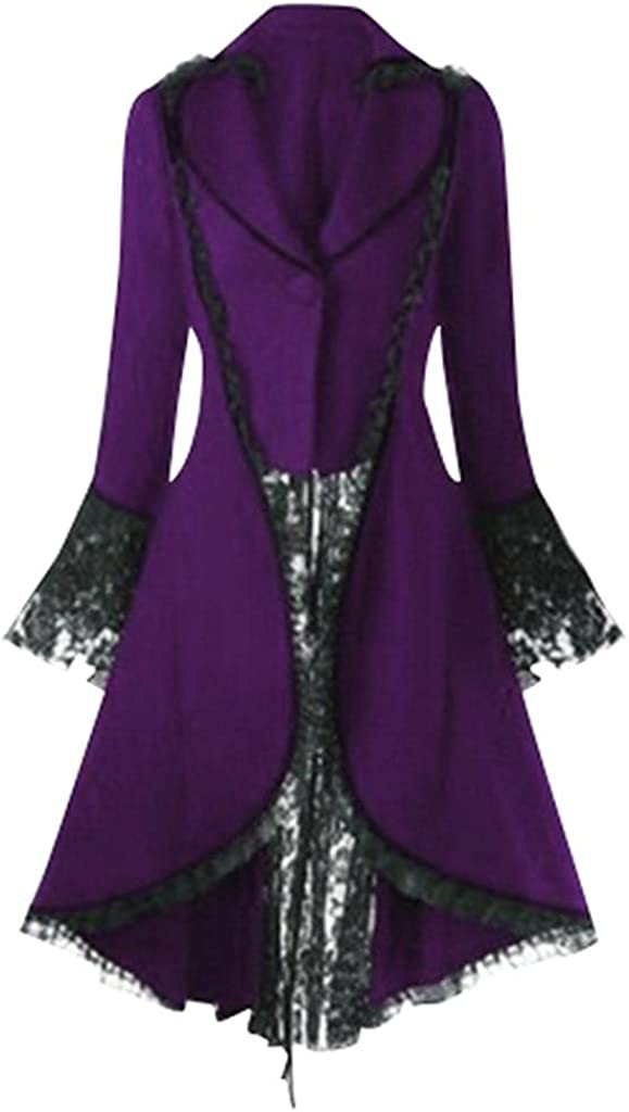Kaitobe Women's Winter Vintage Gothic Button Tailcoat Ultra-Cheap Wholesale Deals Steampu up