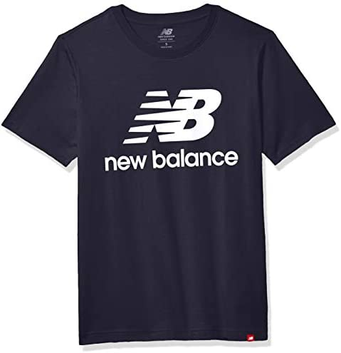 New Balance T-Shirt Essentials Stacked Logo para Hombre - MT01575