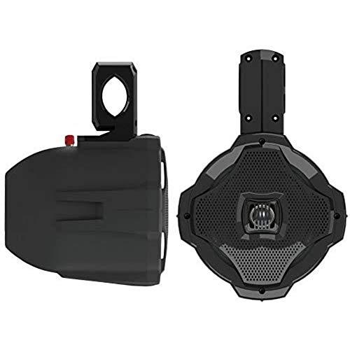 Lanzar AQWB65B - Altavoz para wakeboard (2 canales, 6.5pulgadas, 500W), color negro