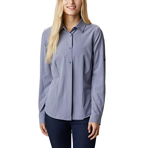 Columbia Dames, Saturday Trail, blouse met lange mouwen, stretchmateriaal