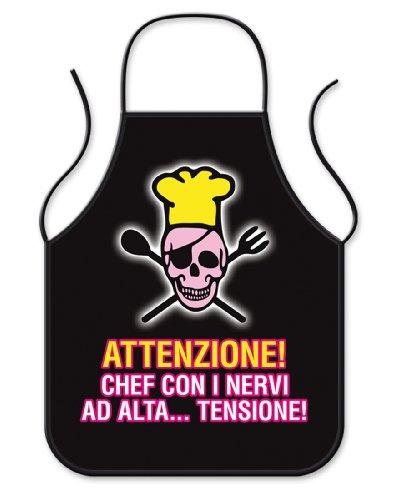 Bombo Grembiule da Cucina Alta Tensione| Articolo, Idee Regalo