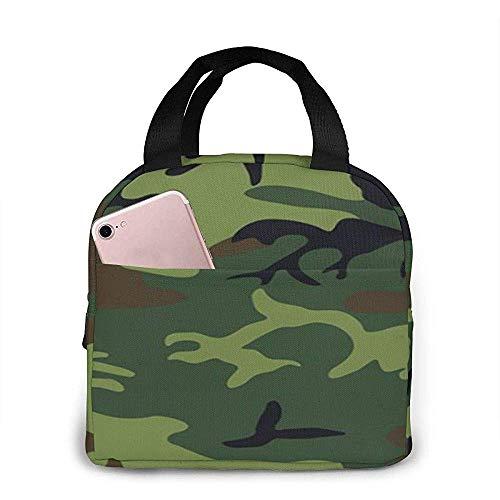 Warmarine Camouflage1 Lunchpaket Einkaufstasche Lunchpaket Lunchpaket Isolierter Lunchpaketbehälter