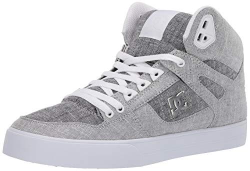 DC Shoes Men's Pure WC TX SE Hi Top Sneaker Shoes Grey/Grey/White (xssw) 10