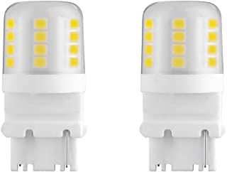 Makergroup S8 3156 Wedge Base LED Light Bulbs 12VAC/DC Low Voltage Water Resistant Design for Outdoor Landscape Lighting Pathway Deck Step Paver lights,Driveway Lights 4W Warm White 2700K-3000K 2-Pack