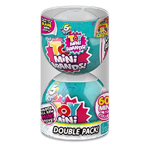 Toy Mini Brands - Pack of 2 Surprise Ball (Bandai ZU7793)