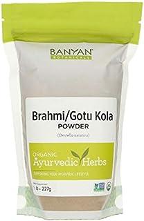 Banyan Botanicals Brahmi/Gotu Kola Powder, 1/2 Pound - USDA Organic - Centella asiatica - Ayurvedic Herb fo...