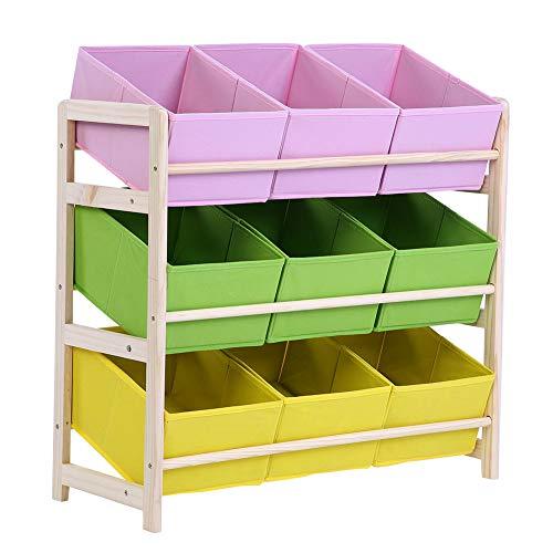 EBTOOLS estantería Juguetes niños Biblioteca Mueble