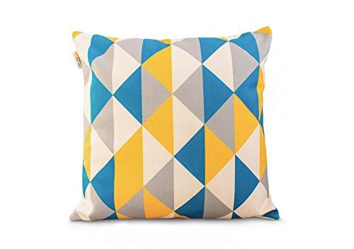 Scandi - Fundas de almohada decorativas geométricas para sofá o dormitorio...