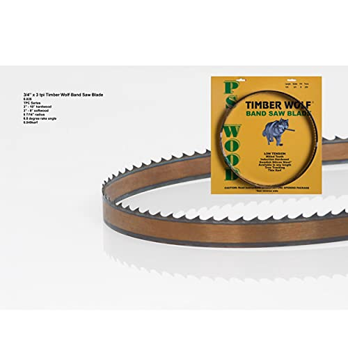 Timber Wolf TPC Bandsaw Blade for Resawing