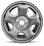Road Ready Car Wheel For 2009-2015 Honda Ridgeline 17 Inch 5 Lug Steel Rim Fits R17 Tire - Exact OEM Replacement - Full-Size Spar