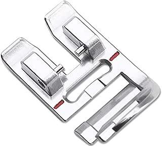 ZIGZAGSTORM 820614096 Snap On Decorative Trim Presser Foot - Ribbon Presser Foot for Pfaff Sewing Machine - 820614096