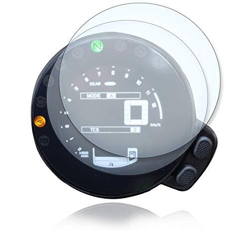 [2 Stück] Displayschutzfolie Tacho Schutzfolie geeignet für Yamaha XSR 700/900 1x Ultra Clear / 1x Anti Glare