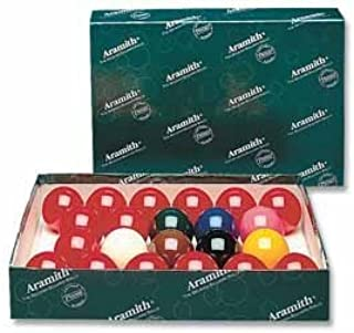 sistema de la bola de billar 52,4 mm Aramith: Amazon.es: Deportes ...