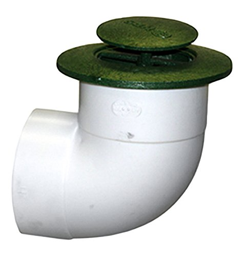 NDS 422G 4' Pop Up Drainage Emitter with Elbow, 4 Inch, Color may vary