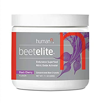 BeetElitePlant-Based Pre Workout Powder for Men & Women - Caffeine Free,Creatine Free & Vegan Friendly Nitric Oxide Booster - Black Cherry 7.1 oz