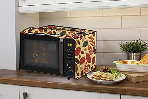 Stylista Microwave Oven Cover for IFB 30 L Convection 30BRC2, Floral Pattern