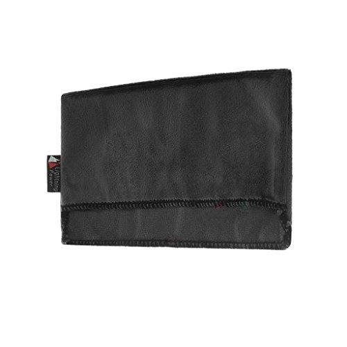 Almofada de proteção dupla face reversível forro macio antiarranhões para Nintendo Switch Console carregador Dock - Preto