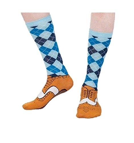 Tobar- Silly Socks Schuhsocken, Größe 37-45, 27916