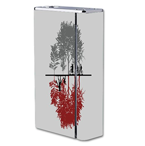 Decal Sticker Skin WRAP Two Dimensions Design for Smok X Cube II 160W TC