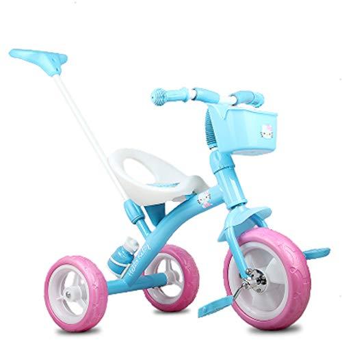 Cochecito bebé bicicleta niño cochecito 1-3-6 años niño y niña portátil triciclo asiento portátil bebé cumpleaños regalo