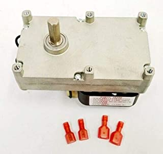 (New Part) Avalon Auger Metering Motor Newport Bay Pellet Stove Fireplace 250-00526, PH-CW1 / firs for Many Models, Check in Description + (one Free Author's Book)