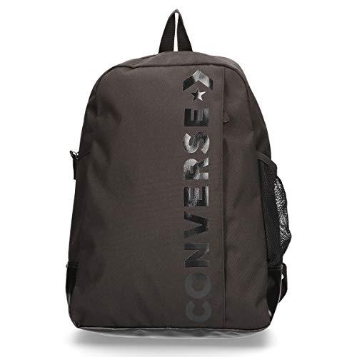 Converse 10008286-A01 Rucksack, Unisex, Erwachsene, Schwarz, 20 Liter