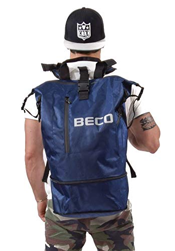 Beco 8753 - Mochila de Deporte Unisex (Talla única), Color Azul Marino