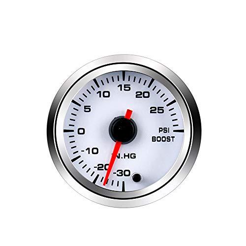 Zusatzinstrumente,Automobil 52mm Druckwassertemperatur, Öltemperatur, Öldruck Und Spannung Luft-Kraftstoff-Verhältnis Meter, 12V Zeiger Meter-Boost-Tabelle